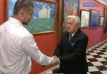Илья Глазунов отмечает 85-летие