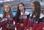 Российские юниоры отстаивают честь страны на играх в Баку