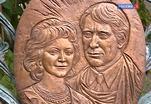 На Новодевичьем кладбище открыли памятник Людмиле Касаткиной и Сергею Колосову