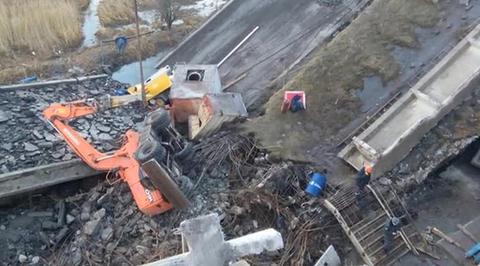 При разборе ветхого моста в Калининграде погибли четыре человека