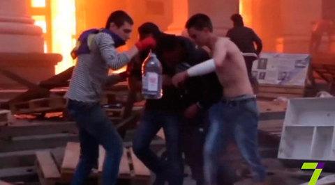 Совет Европы обвинил милицию в причастности к бойне в Одессе