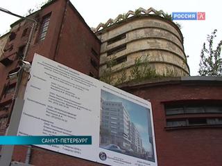 Петербургский памятник конструктивизма скроется за новостройкой