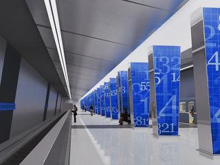 Московское метро украсят расписные колонны