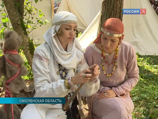 Эпоху Средневековья воссоздали на фестивале исторической реконструкции