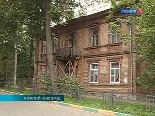 В центре Нижнего Новгорода может обрушиться исторический балкон