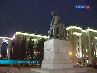 Петербургский памятник Чернышевскому открыли после реставрации