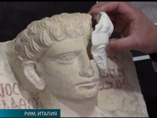 Римские ученые восстановили две статуи из Пальмиры
