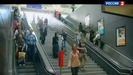 Как борются с толпами в венском метро