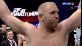 Сергей Харитонов готовится к турниру тяжеловесов