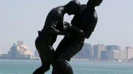 Памятник удару Зидана появился в Дохе