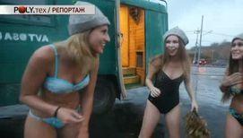 Тюнинг по-русски: баня на колесах