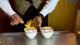 Где можно выпить капучино с золотом за 600 рублей