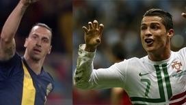 Роналду и Ибрагимович: кто кого