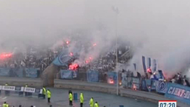 В Санкт-Петербурге болельщики бьют футболистов