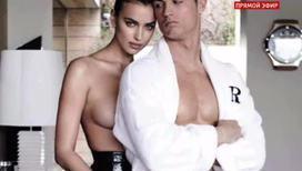 Ирина Шейк и Криштиану Роналдо снялись в откровенной фотосессии