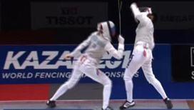 Россиянки взяли серебро в фехтовании