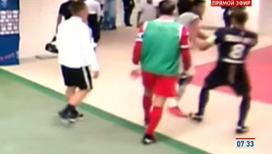 Бразильский нападающий дисквалифицирован за драку