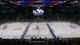 Гимн Советского Союза снова звучит на ледовой арене