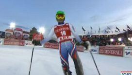 Хорошилов завоевал бронзу в слаломе
