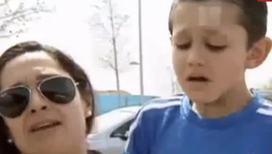 Роналду довел до слез малыша