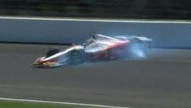 Бразильский гонщик попал в аварию