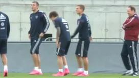 Капитан сборной России по футболу снова в строю