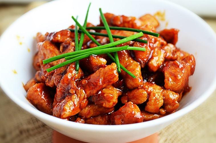 Свинина в соусе на сковороде рецепт с пошагово